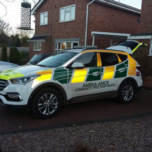 The new Eccleshall CFR Response Car